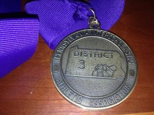 District 3 Medal