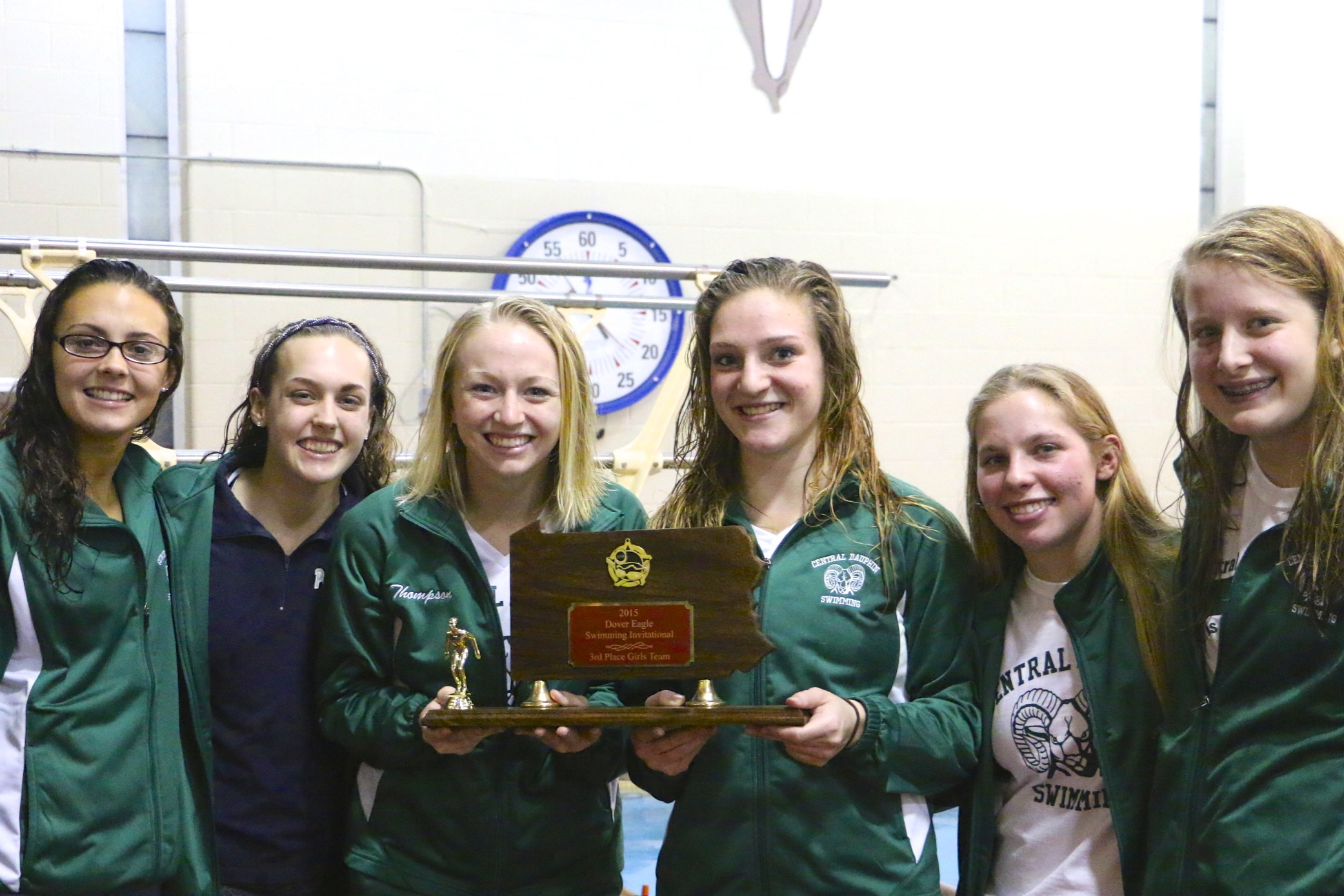 26th Annual Dover Eagle Invitational Central Dauphin Results Central Dauphin Swimming
