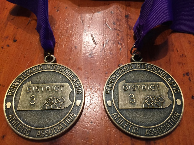 District Medals 2016